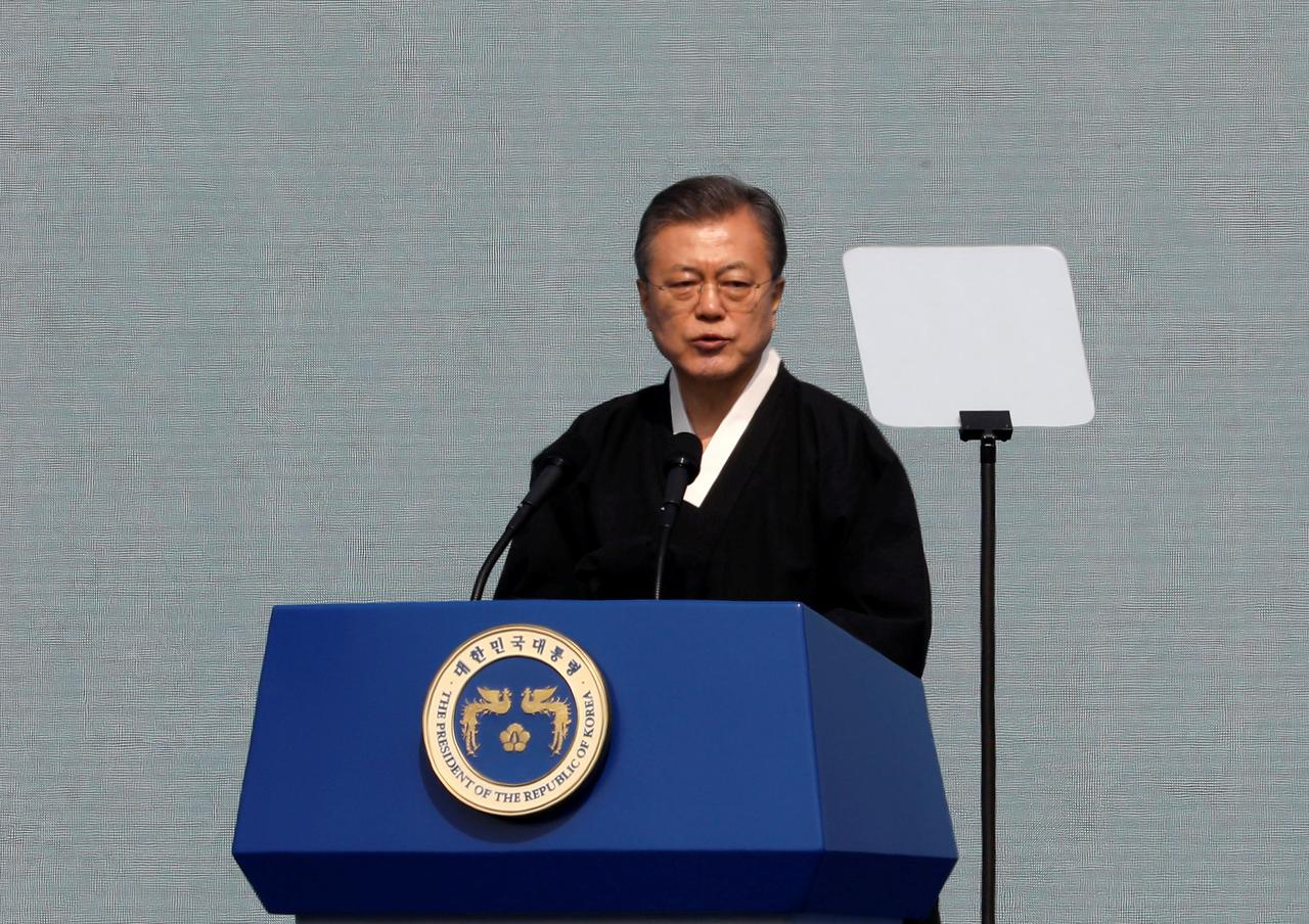 South Korea's Moon names new point man on North Korea after