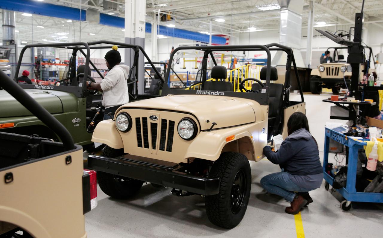 Mahindra takes second crack at U S  auto market with 'India