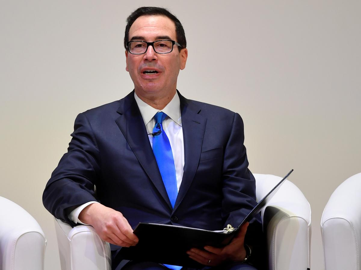 Mnuchin says government will shield Trump's tax returns, same as any taxpayer's