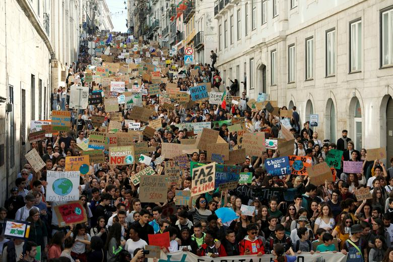 Students strike for climate change action