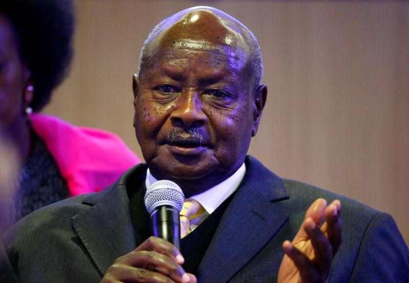 Uganda's ruling-party MPs back country's aging leader for another term