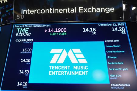 Tencent Music hits low pitch after first earnings report exposes costs