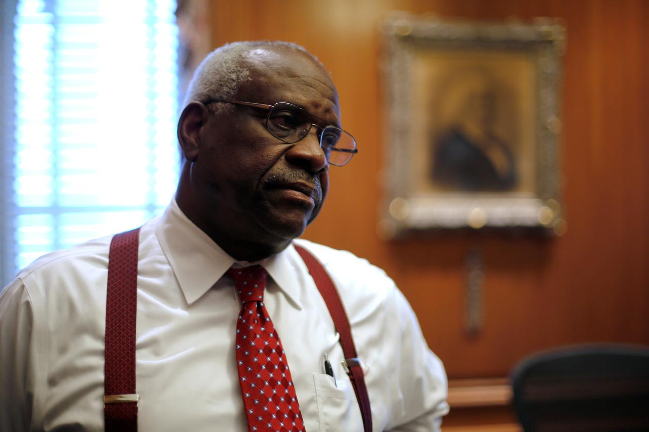 Citing Racial Motive Federal Appeals >> Justice Thomas Speaks As U S Top Court Confronts Racial Bias In