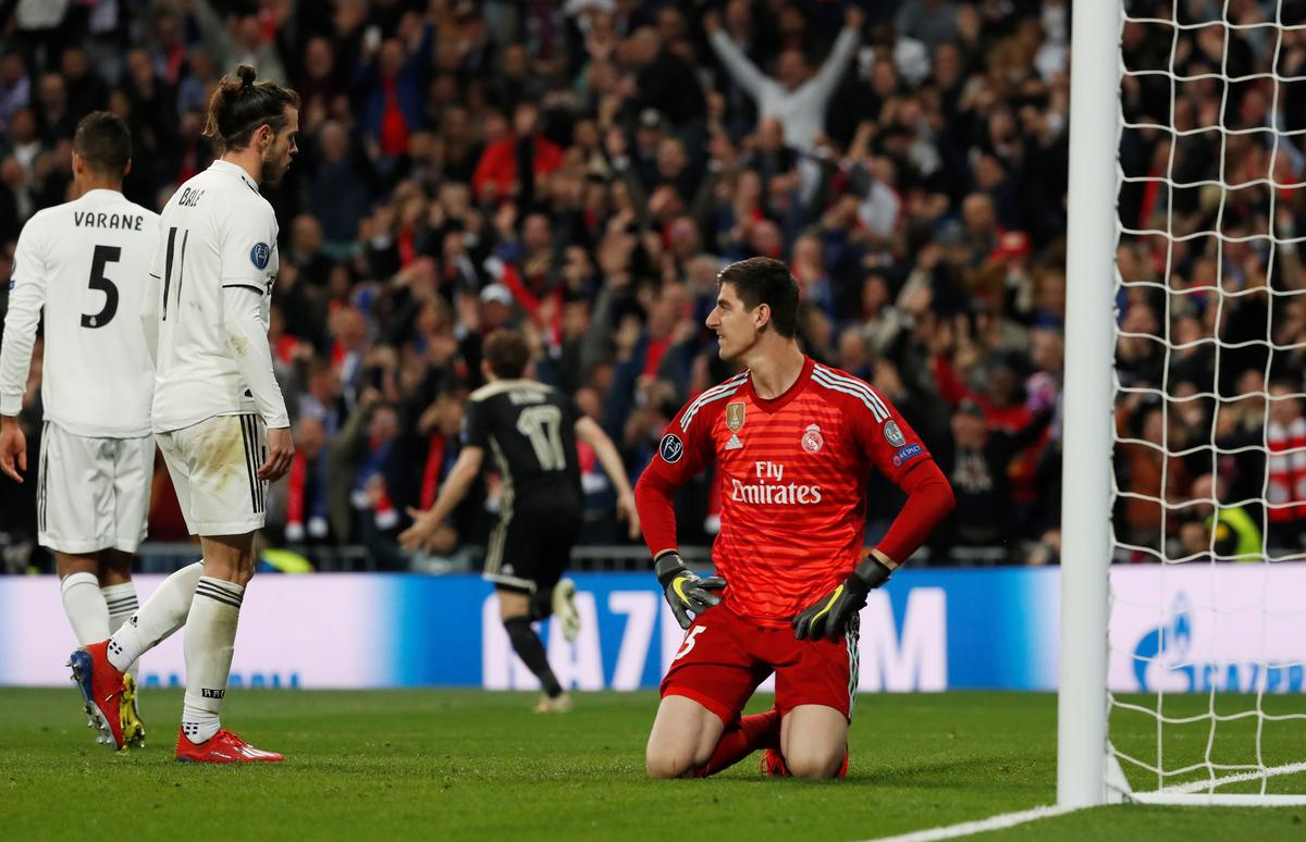 Spanish Press Want To Kill Me Says Courtois After