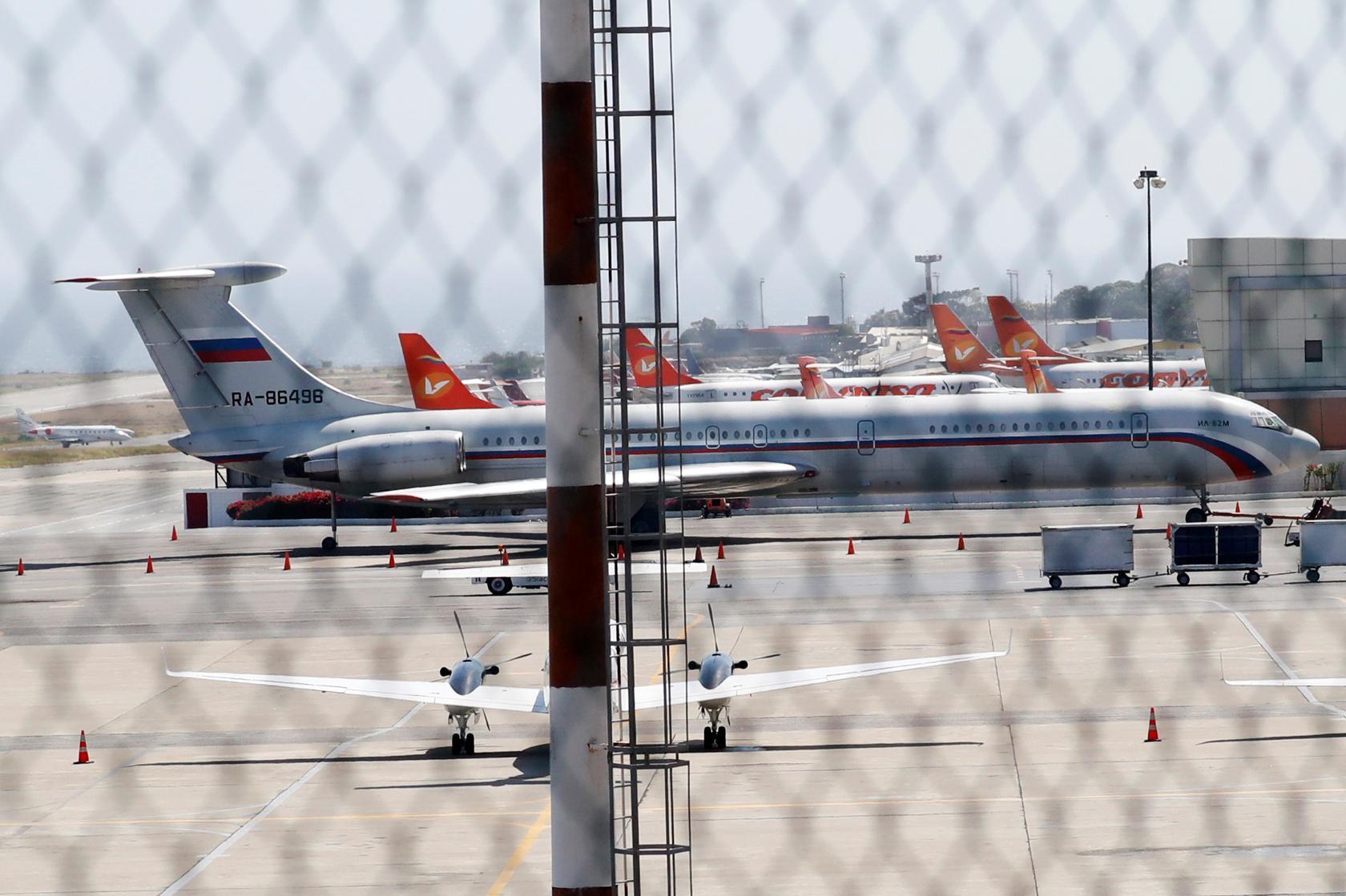 Russian Planes in Caracas