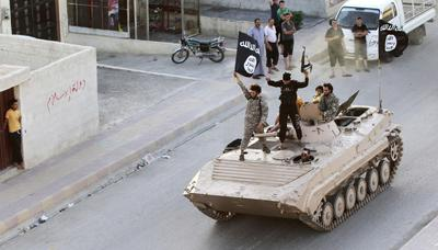 Rise and fall of the Islamic State caliphate