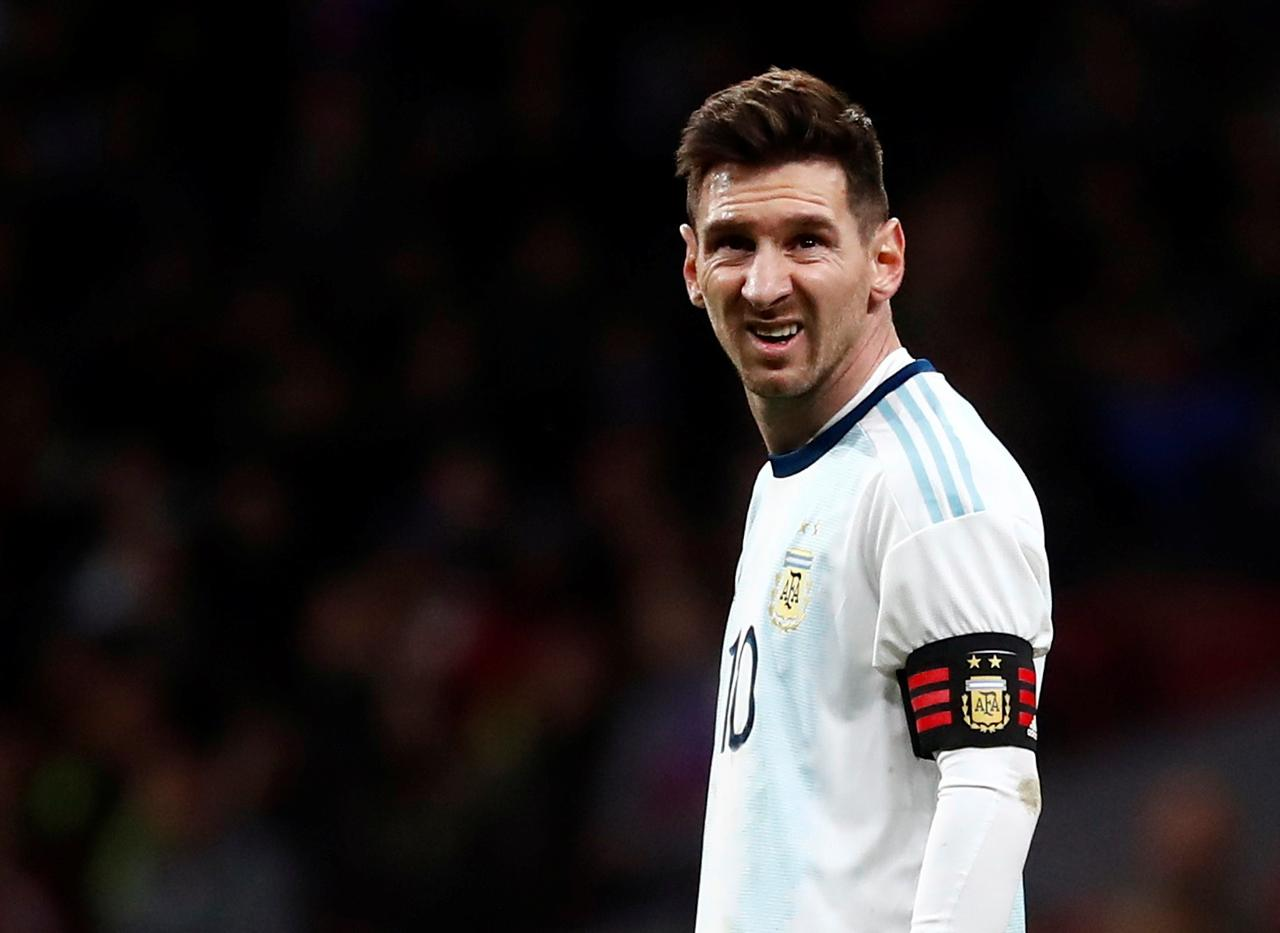 100% authentic 53ebd 94ccc Soccer: Messi haunted by failures but retirement still long ...
