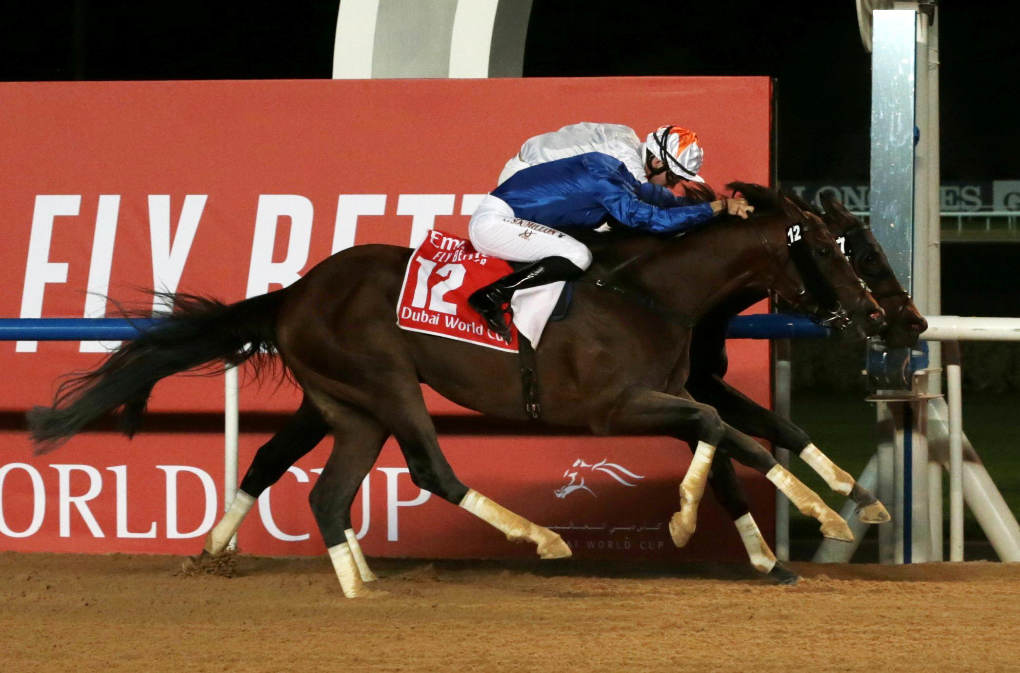 Horse Racing - Thunder Snow makes history with second Dubai title