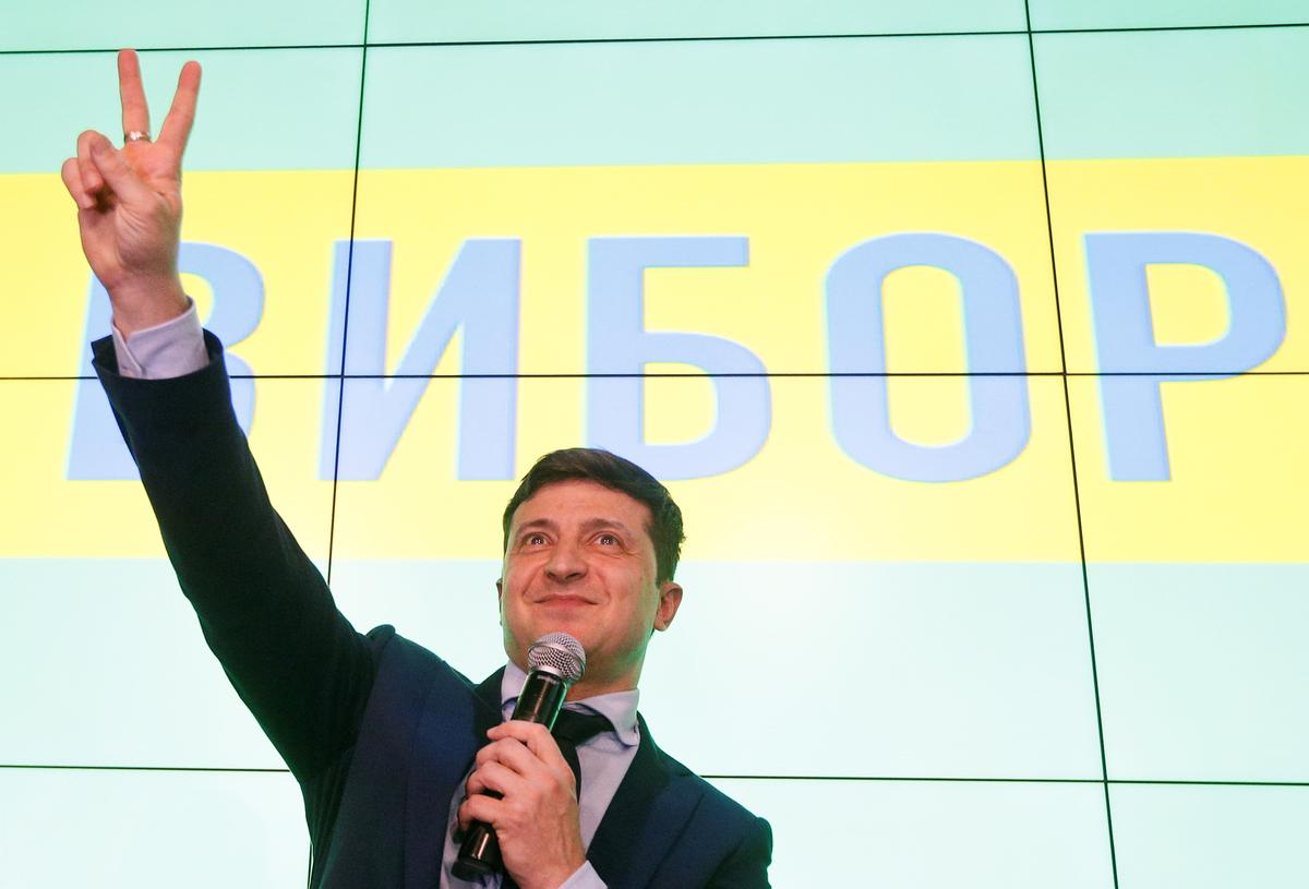 Comedian takes commanding lead in Ukraine presidential vote - Reuters