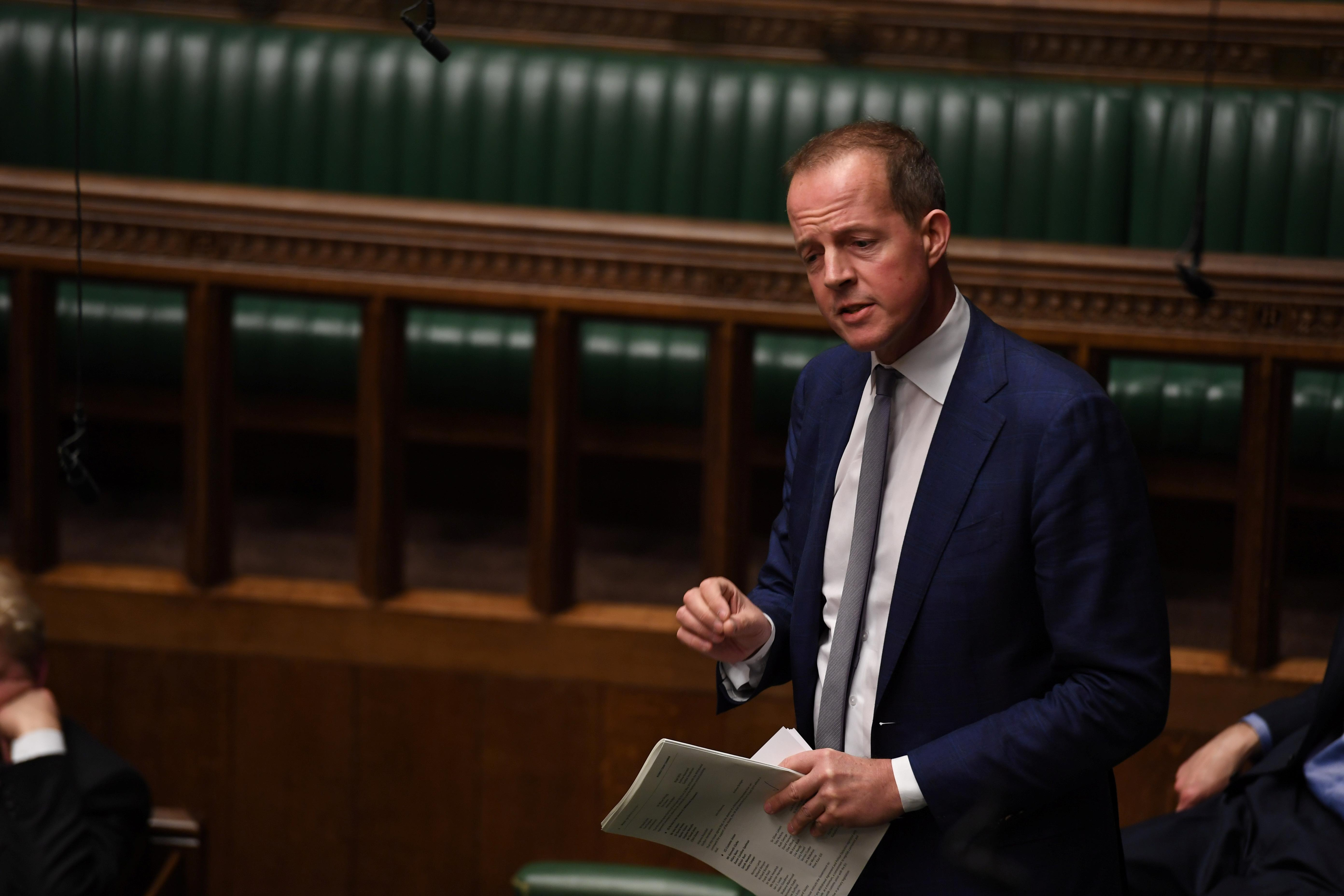 UK lawmaker Boles quits Conservative Celebration over Brexit