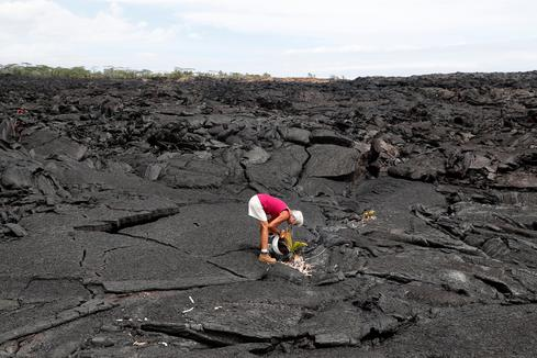 Hawaii residents return to volcano-hit homes