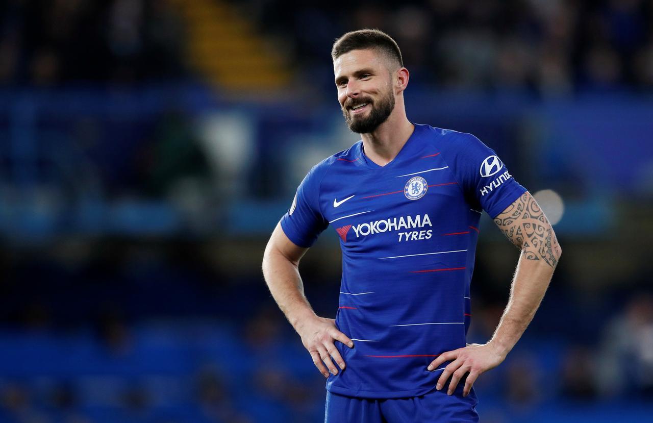 finest selection 34316 7f6b6 Sarri wants to retain Giroud at Chelsea next season - Reuters
