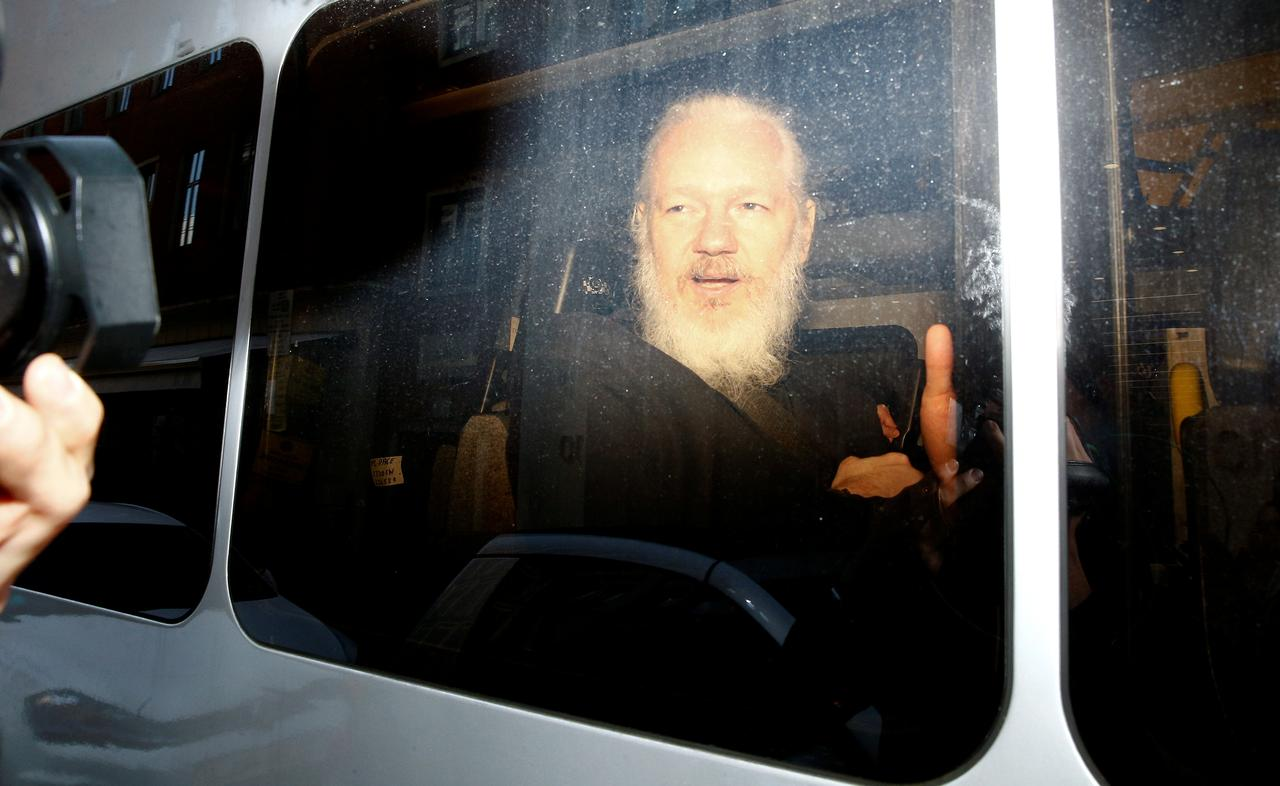 U S  charges WikiLeaks' Assange with hacking conspiracy with