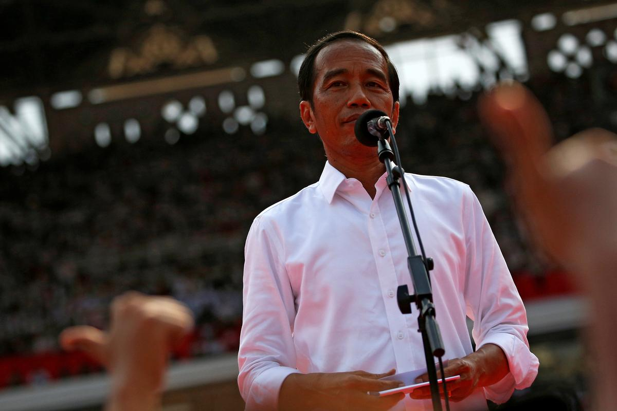 After reality check, Indonesia's 'new face' in politics seeks second term