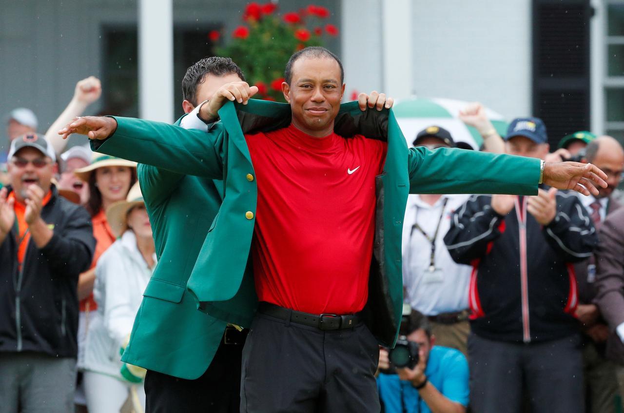 Image result for Trump, Obama, Serena praise Tiger Woods