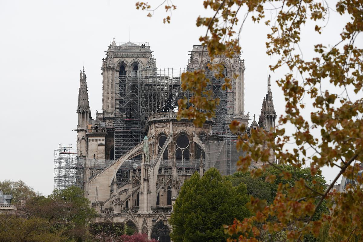 Fire guts Notre-Dame Cathedral in Paris