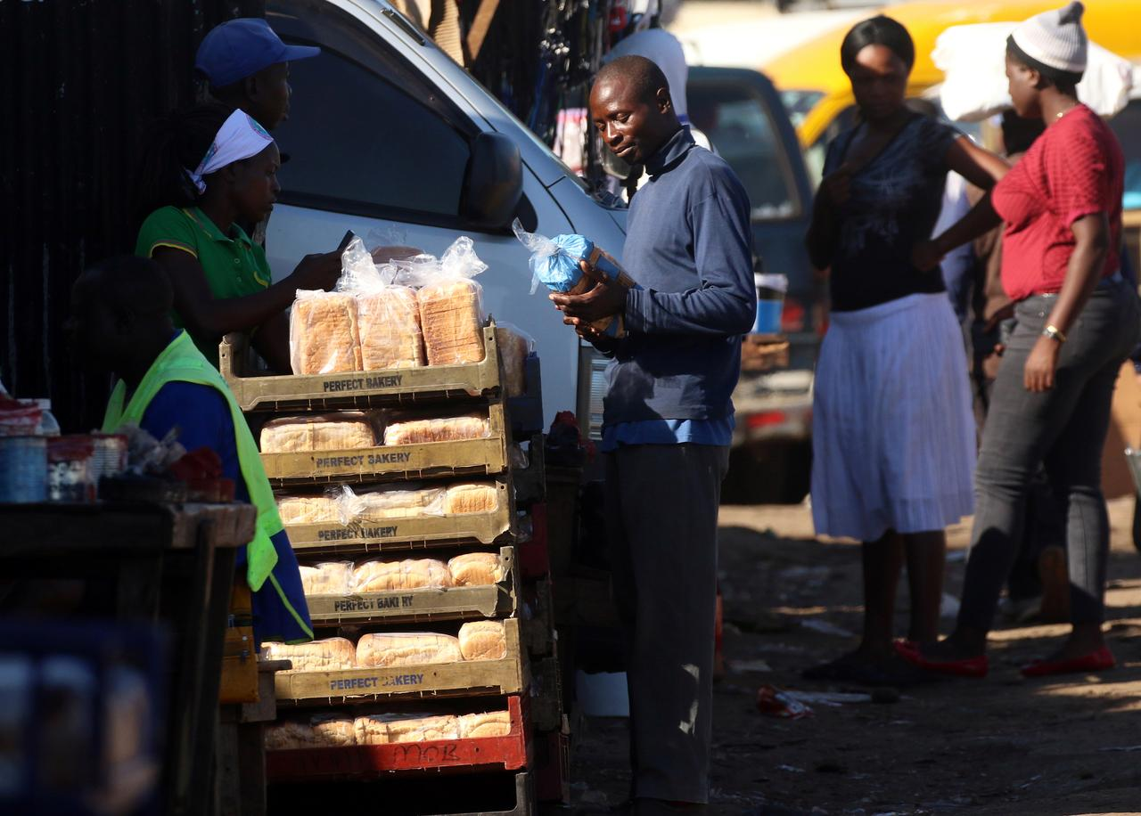 Zimbabwe nearly doubles bread price as economic woes mount