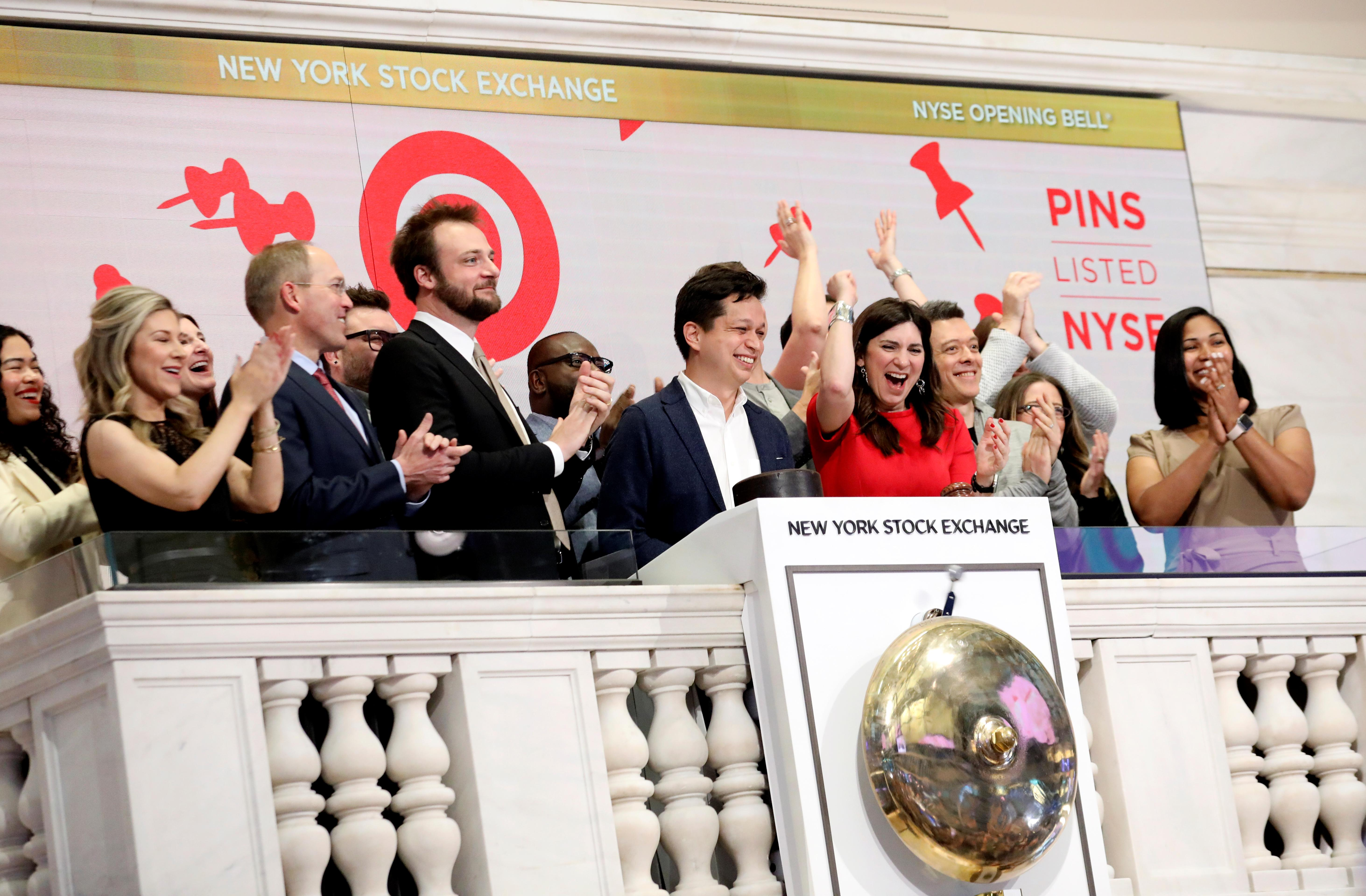 Pinterest, Zoom shares surge in market debuts after IPOs