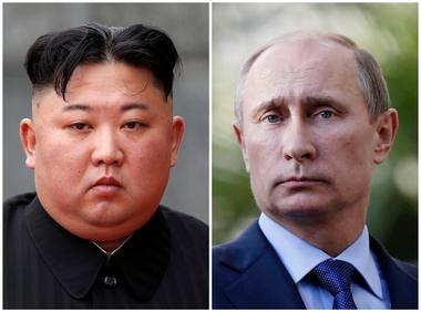 FILE PHOTO: A combination of file photos North Korean leader Kim Jong Un...