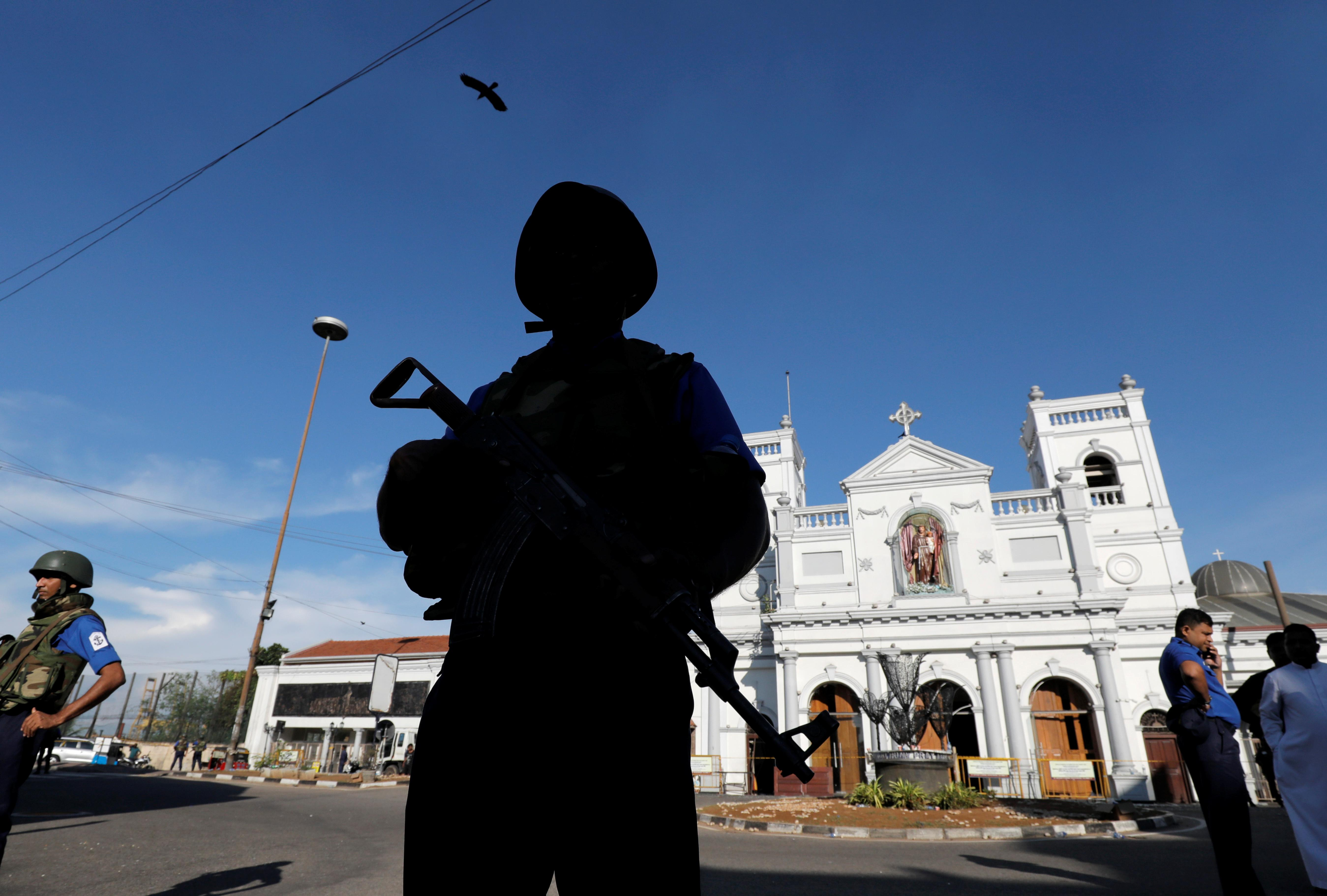 Suicide bombing intelligence row stokes political tension in Sri Lanka