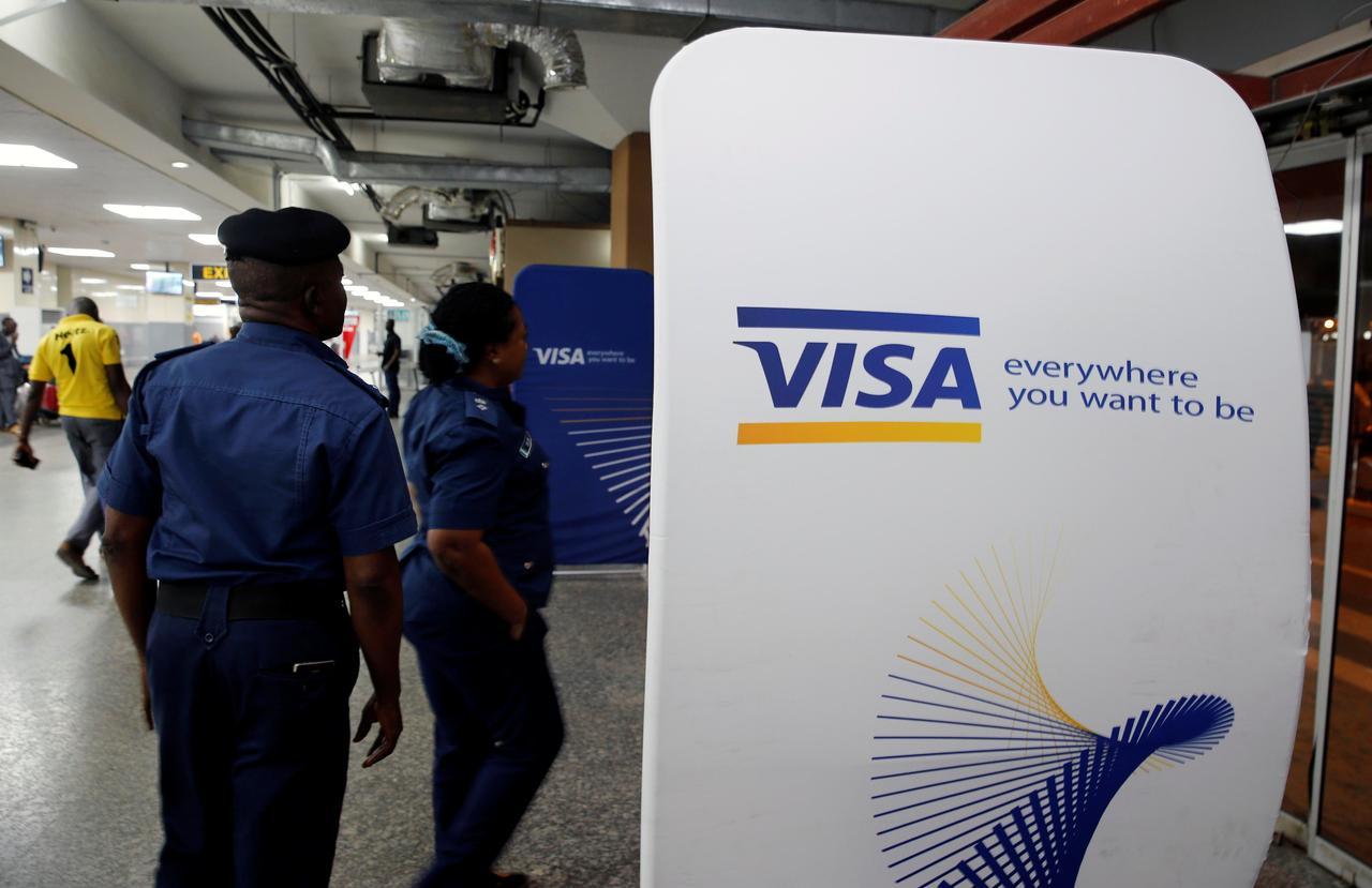 Visa profit jumps, lower cross-border volume weighs on