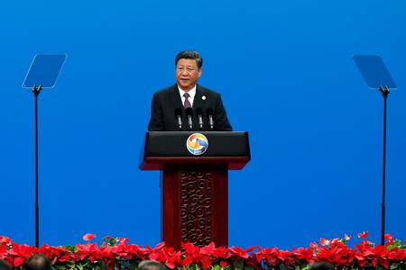 China's Xi says Belt and Road must be green, sustainable
