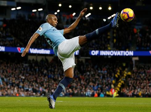 Man City competing like 'animals' to win title - Fernandinho