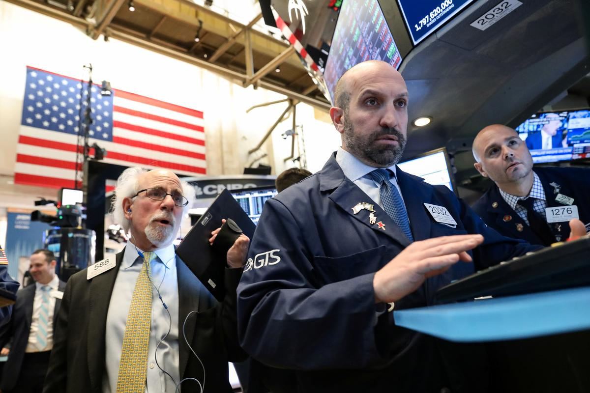 Wall Street dips as technology stocks weigh