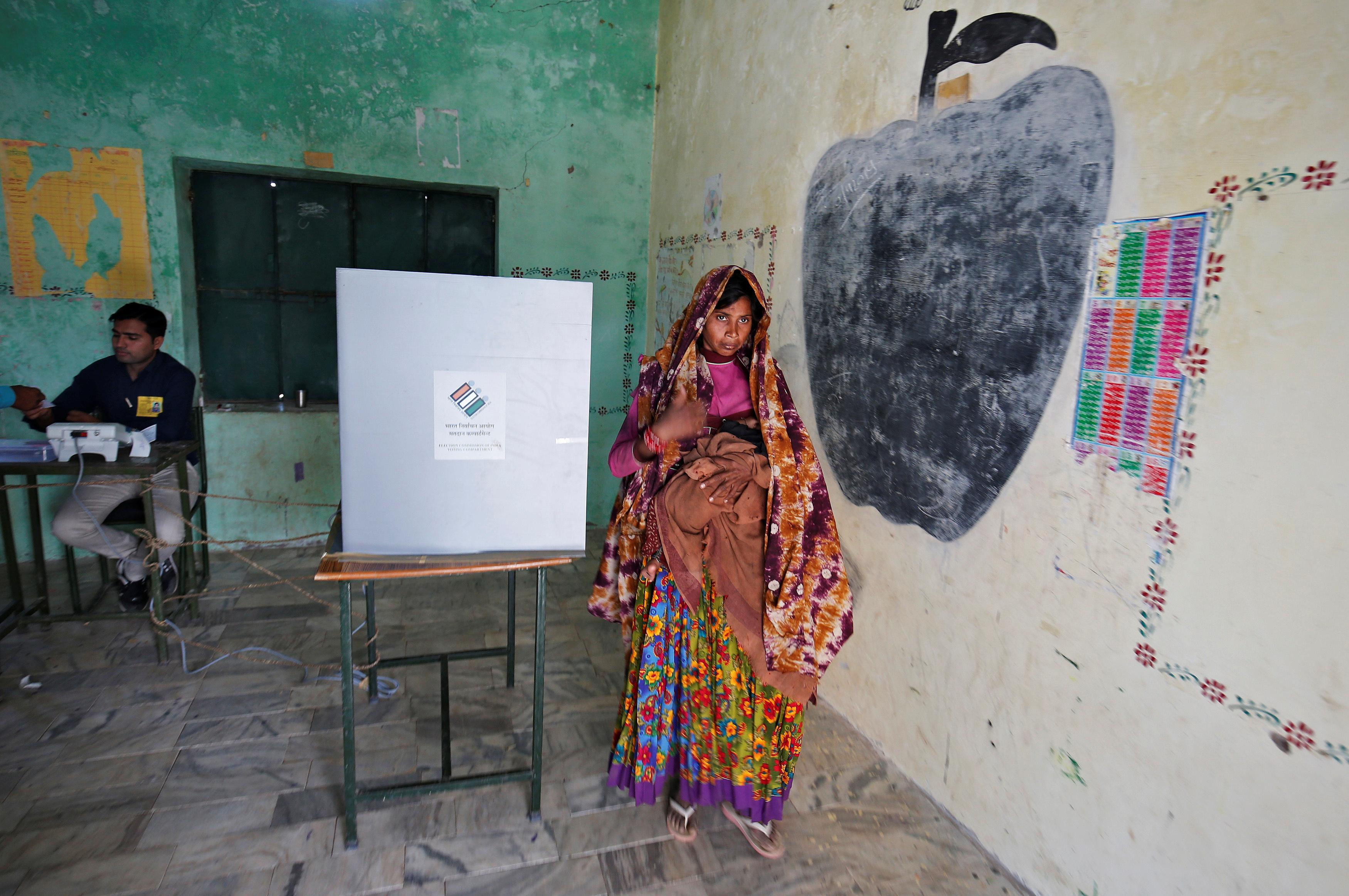Violence mars voting in India's eastern battleground state
