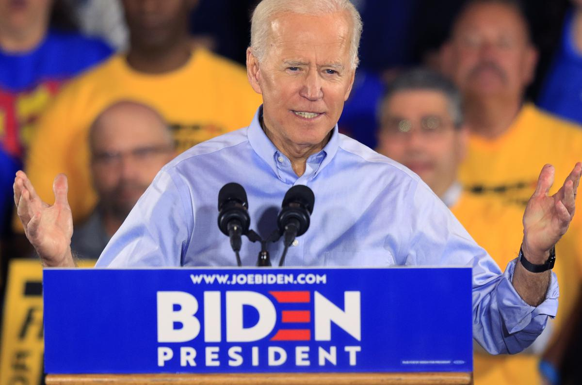At First 2020 Event Biden Sets Up Battle With Trump Over Union Vote Reuters