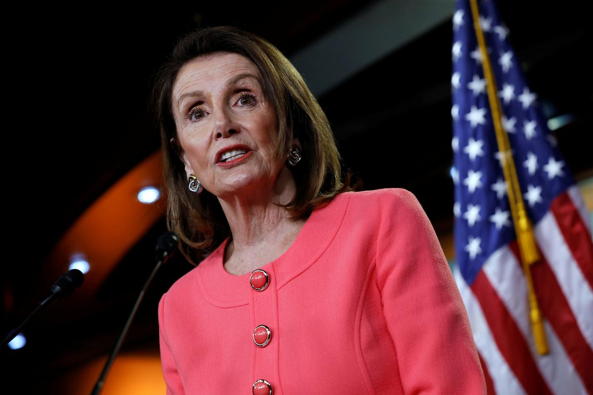 Pelosi says Barr committed a crime by lying to Congress