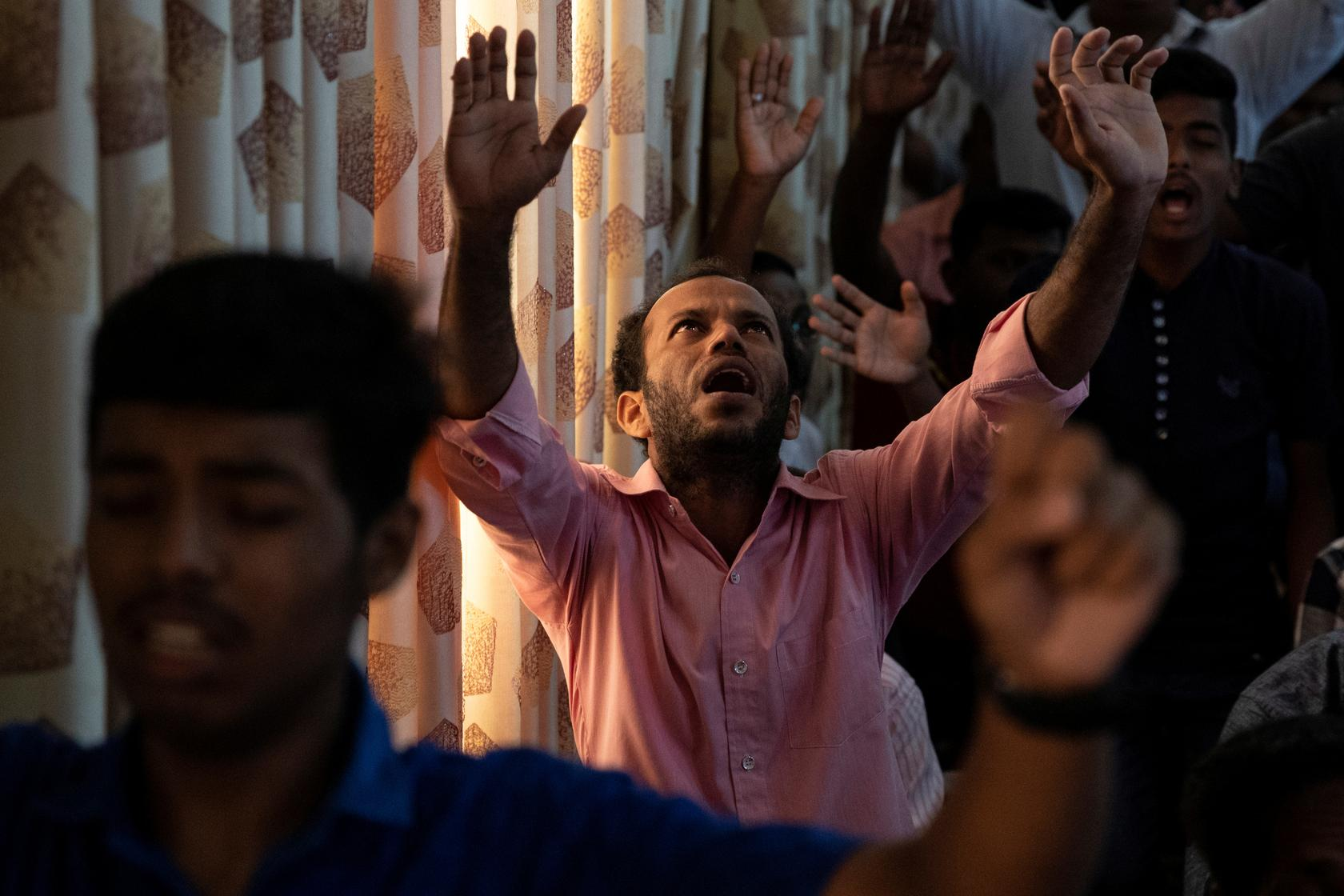 Save us from the Satans': Survivors of Sri Lanka church attack pray