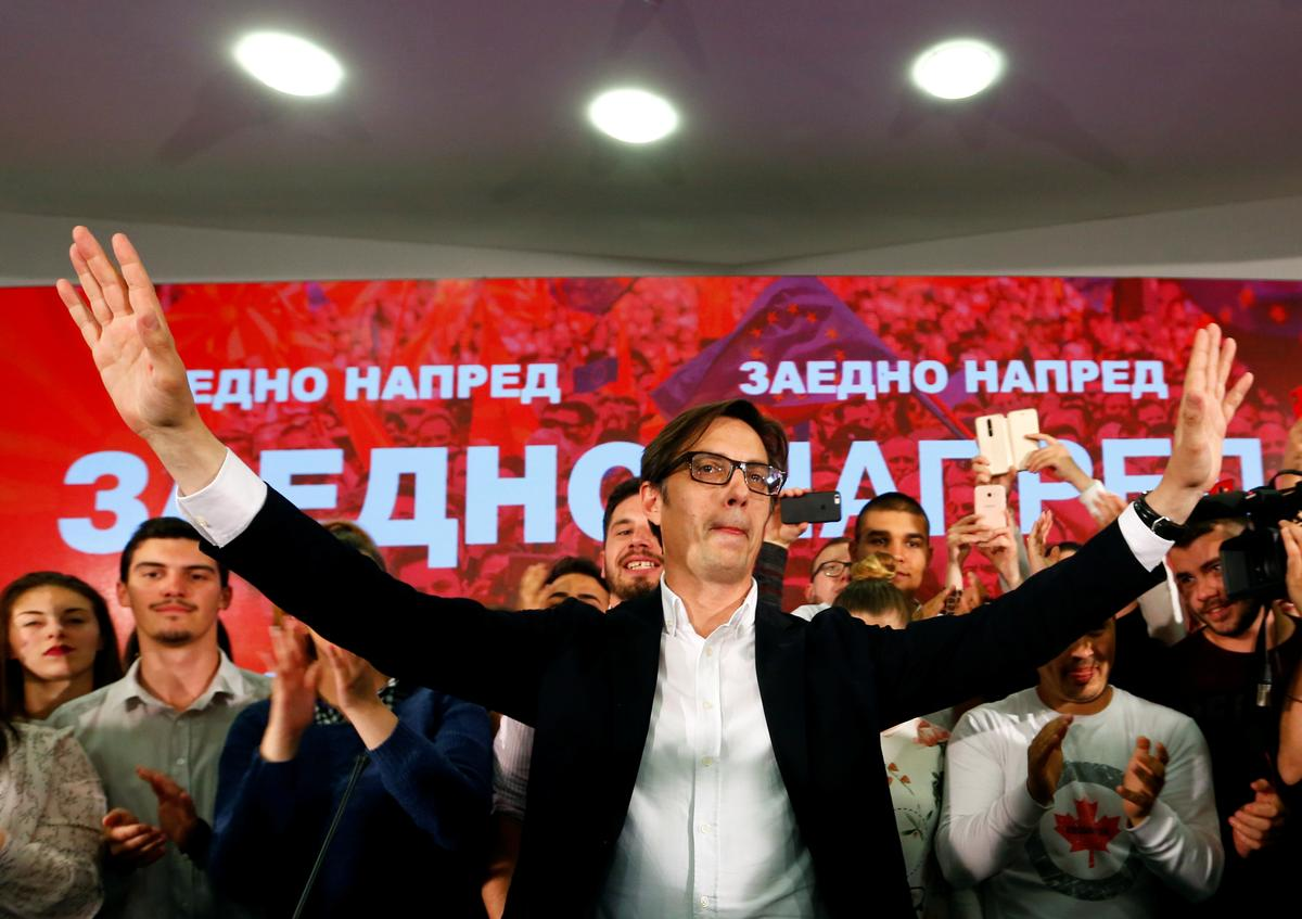 North Macedonia's pro-Western candidate wins presidential vote