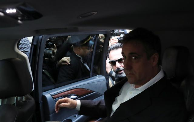 Ex-lawyer Cohen reports to prison, blasts Trump for 'injustice and