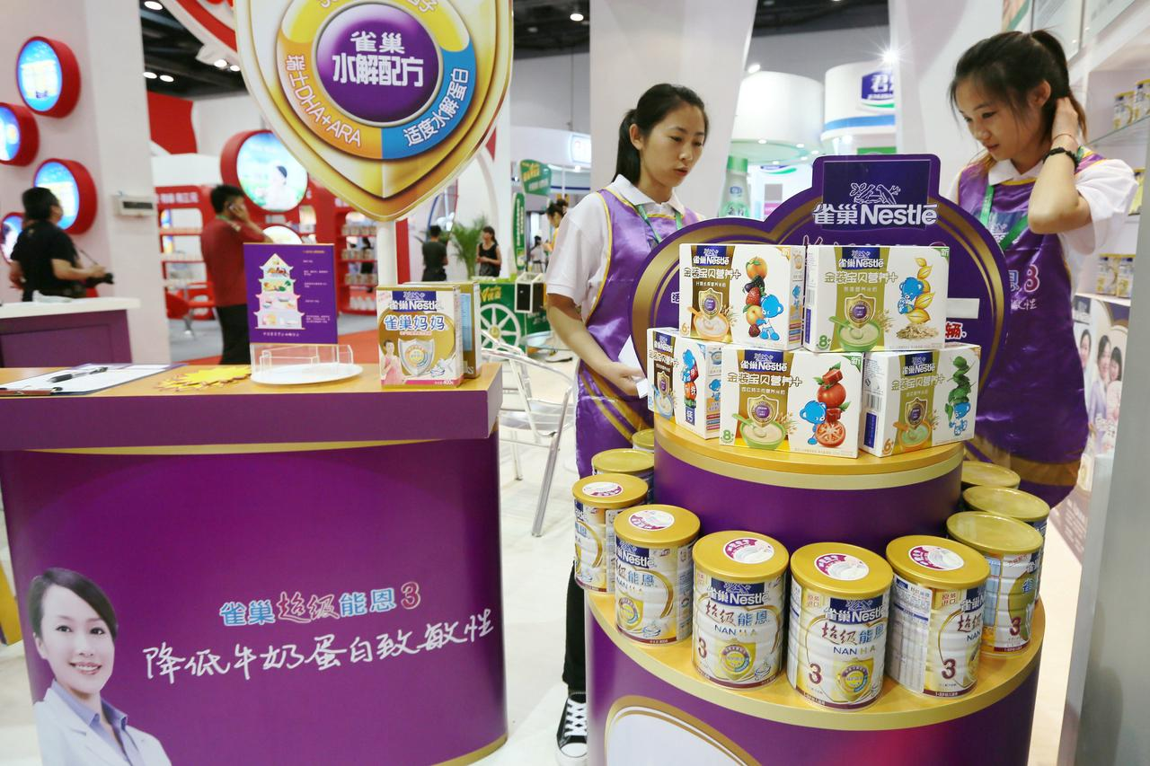 Nestle, rivals vie for big baby formula prize in China's