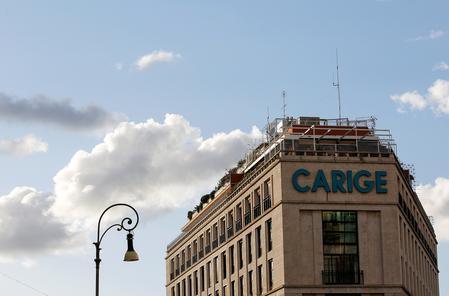 BlackRock pulls out of rescue for Italian bank Carige