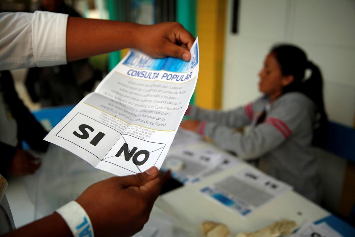 Belizeans vote to ask U.N. court to settle Guatemala border dispute