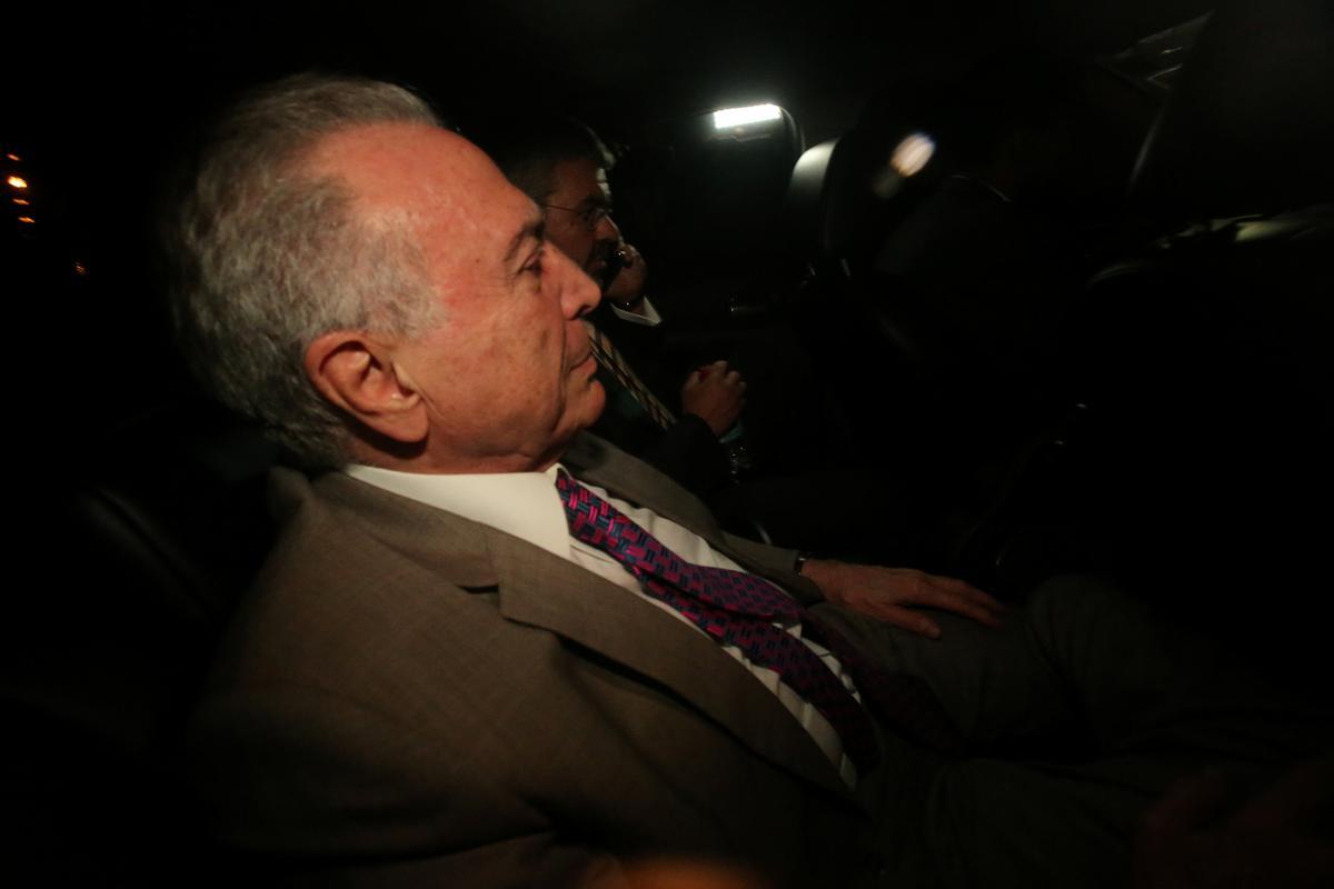 Former Brazil President Temer surrenders following new arrest warrant