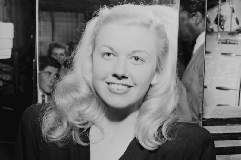 30df35121 Actress Doris Day is pictured at the Aquarium in New York City