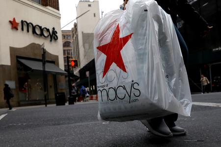 Macy's same-store sales tops expectations; shares rise 7%