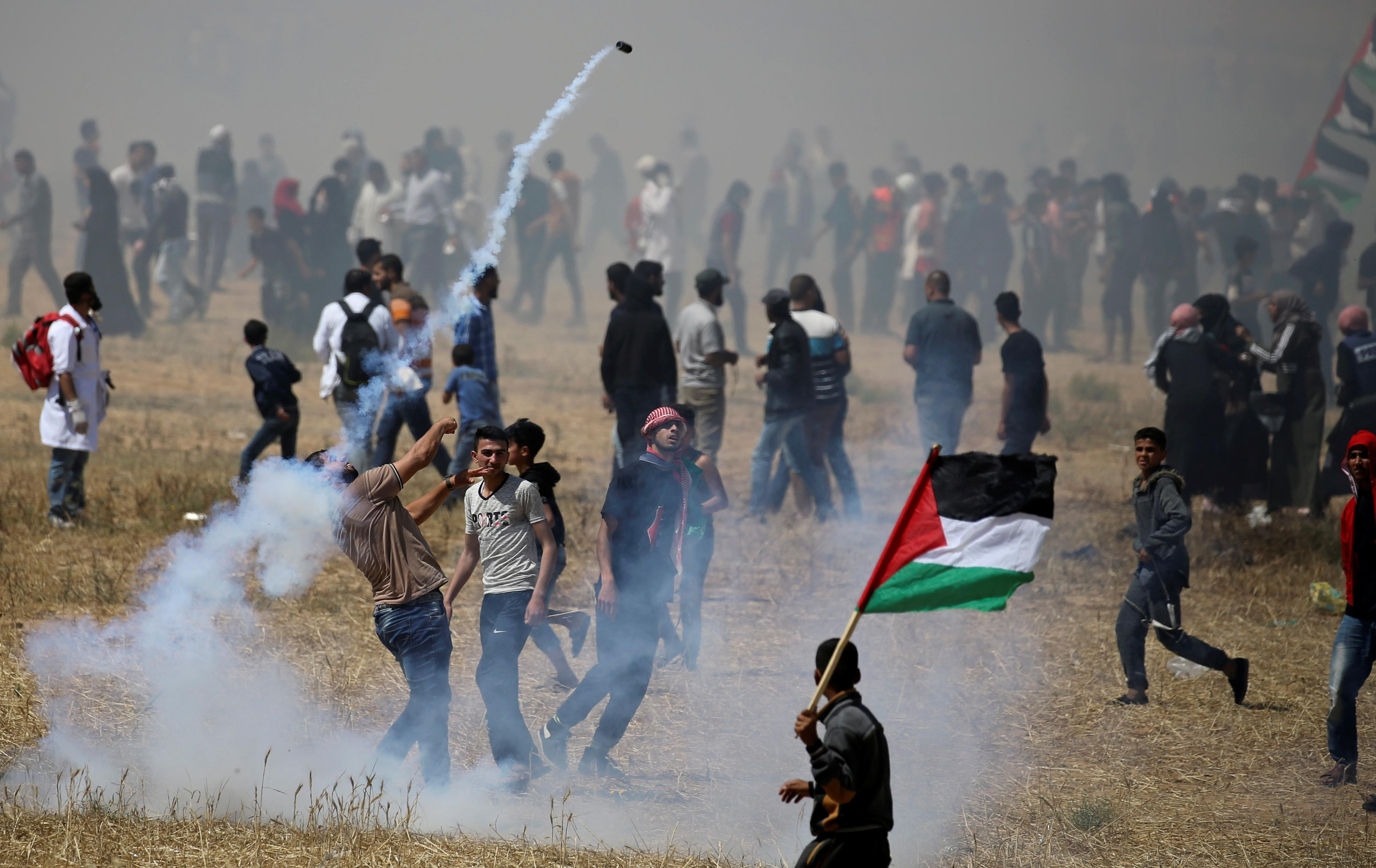 Nearly 50 Palestinians wounded in 'Catastrophe' anniversary...