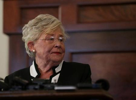 Alabama governor signs strictest U.S. abortion ban into law