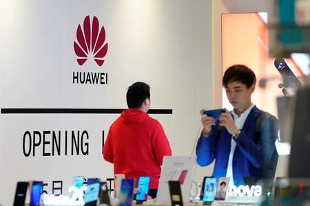 China says opposes unilateral sanctions against its entities, as U.S. blacklists Huawei