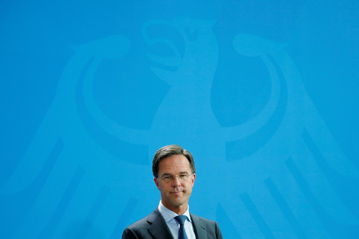 "Dutch PM Rutte says idea of Brexit is ""wrong"""