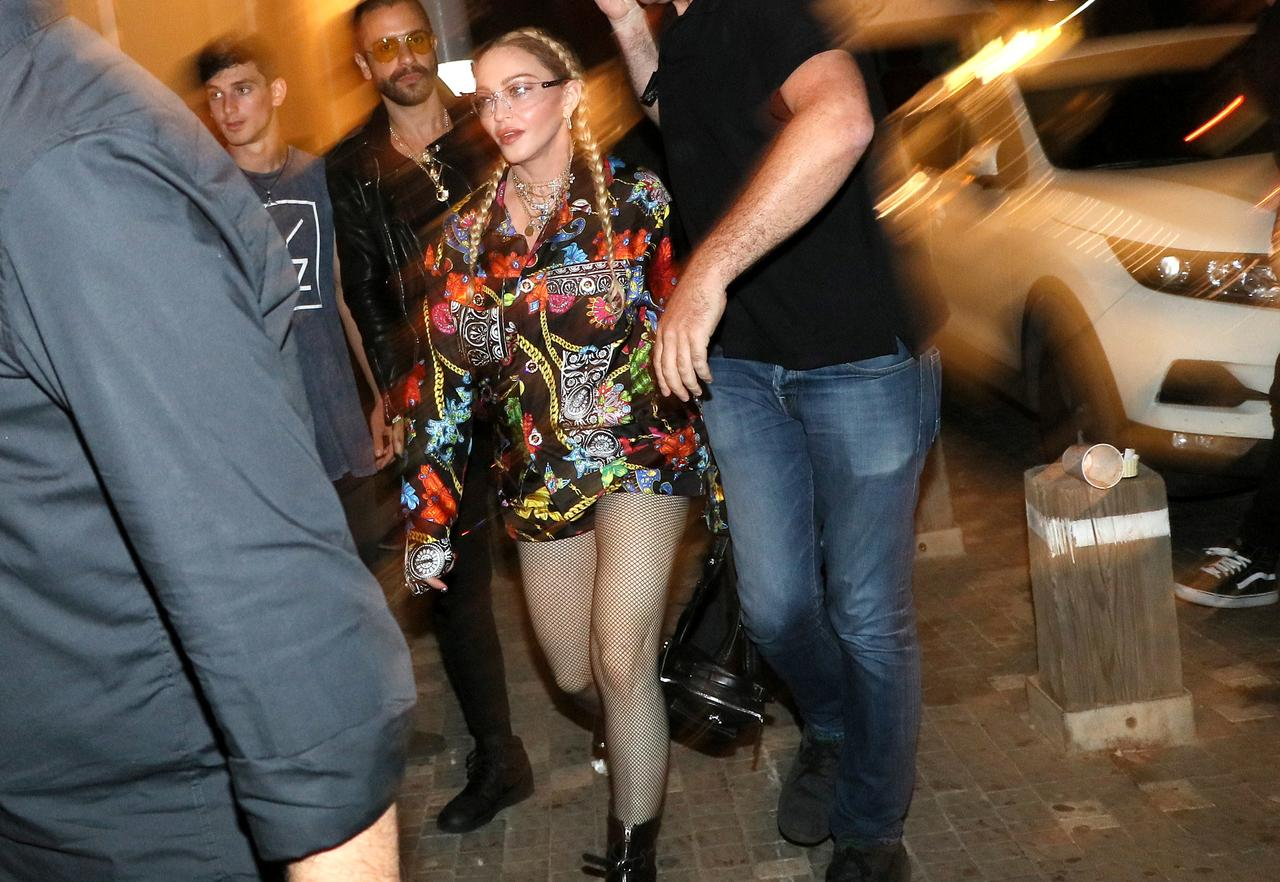 Image result for Madonna gets into Eurovision groove in Tel Aviv despite Palestinian criticism