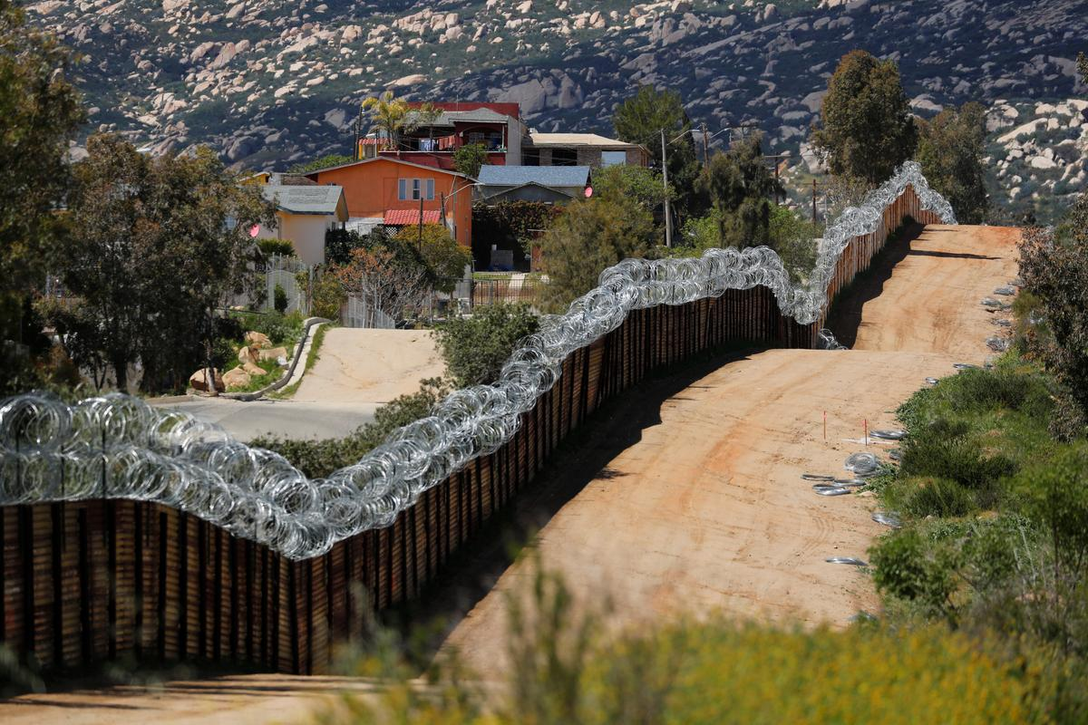 photo image Trump's diversion of billions for border wall faces first U.S. court test