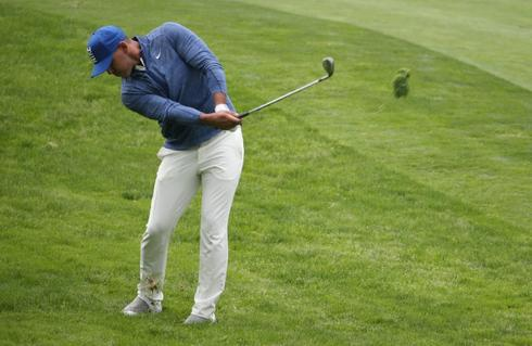 Koepka leads by seven shots at PGA with record low major score