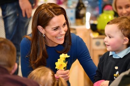 Britain's Duchess Kate designs woodland garden at Chelsea Flower Show