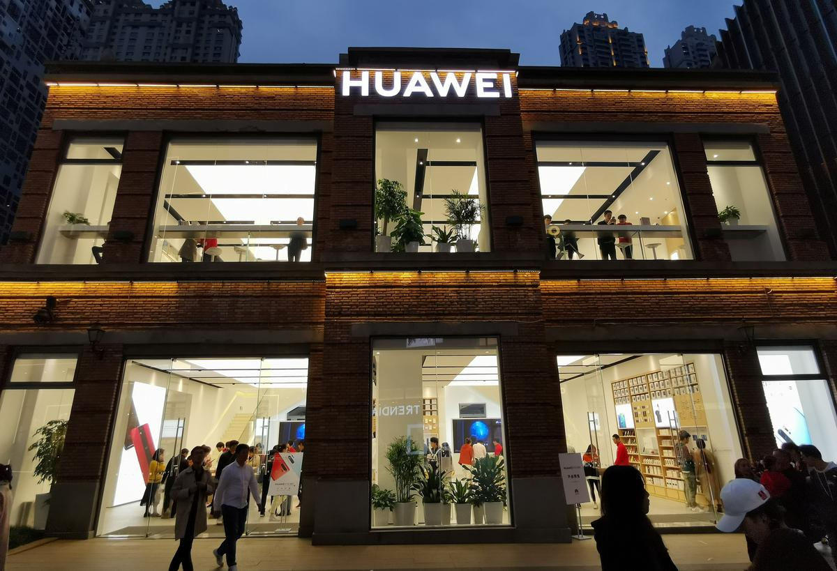 'U.S. eases restrictions on Huawei; founder says U.S. underestimates...' /
