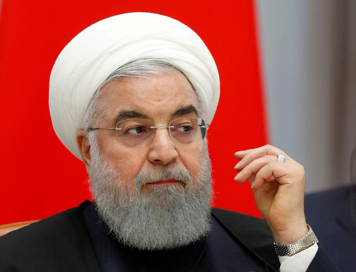"Rouhani rejects talks, says Iran faces U.S. ""economic war"""
